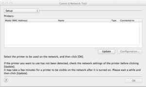 Canon IJ Network Tool Ver. 4.4.1