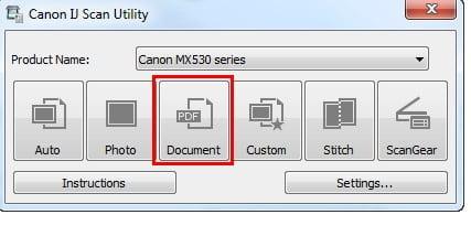 Canon IJ Scan Utility Ver. 2.1.6